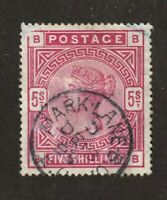 Great Britain stamp #108, used,  clear circle date w/ 4 clear margins,  SCV $375