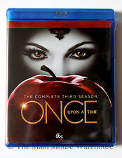 Disney ABC T.V. Series Once Upon a Time The Complete Third Season 3 on Blu-ray