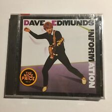 Dave Edmunds - Information CD _Columbia _New & Sealed.   (3097)