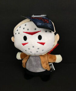 Friday The 13th Jason Voorhees Halloween Horror Plush Dog Pet Toy w Squeaker NEW