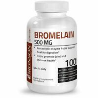 Bronson Bromelain 500 mg Immune Support, 100 Tablets