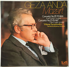GEZA ANDA MOZART Concerto No. 20 KV 466 German Eurodisc EX/EX