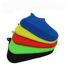 Silicona Overshoes Lluvia Impermeable Bota Cubiertas De Zapatos Funda Protector reciclable