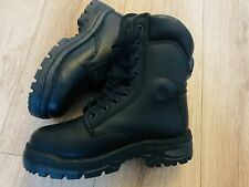YDS Milatary Police Safety Boots. Size 4. Thick. Work Boots.