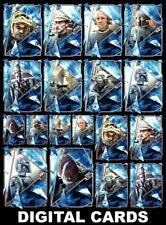 Topps Star Wars Trader FRACTURED EMPIRE (ESB) Wave 2 [18 CARD SILVER/BRONZE SET]
