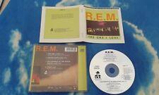 R.E.M. – The One I Love  UK LTD MAXI CD SINGLE E.P W/RARE LIVE TRACKS**TOPS**