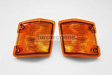 VW Transporter T3 T25 79-92 Orange Front Indicators Repeaters Pair Left Right