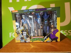 Casey Jones & Foot Soldier Neca Target Teenage Mutant Ninja Turtles TMNT 2-Pack