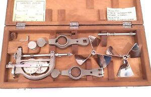 ANTIQUE 1900 ULTRA RARE NAUTICAL MARINE SHIP LOG METER TWO PROPELLERS & CASED