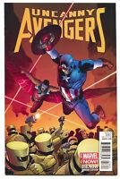 Uncanny Avengers 18.NOW 18 Marvel 2014 NM 1:20 Lee Weeks Variant Captain America