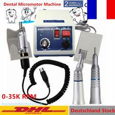 Dentaire Lab MARATHON micromoteur polisseur N3 + 2x Low Slow Speed Handpiece FR