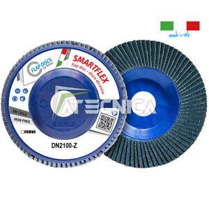 Discos Granulación 115 IN Circonio Fervi DN2100-Z Gr 40-60-80-120 De Desbarbado