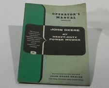 John Deere Operators Manual 47 Heavy-Duty Power Mower