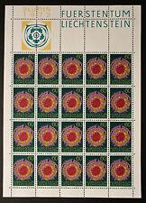 Francobollo LIECHTENSTEIN Stamp - Yvert e Tellier n°505 x20 (En Feuillet) n (Y5)