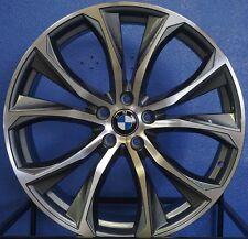 "22"" BMW X5 X6 X5M X6M Rims Staggered Machined 2016 M Sport Style Wheels"