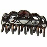 Caravan Braid And Loops Fanciful King Size Hair Claw Tortoise Shell