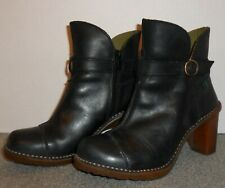 EL NATURALISTA LEATHER BOOTS SIZE 6 US/36 EUR! BARELY WORN! FAST~FREE SHIPPING!