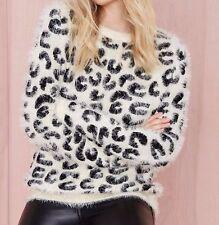 Nasty gal Hear me roar sweater   women's Size large