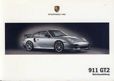 Porsche 996/911 GT2 Mode D 'em Ploi , Manuel D'Instructions, Modèle Année 2005
