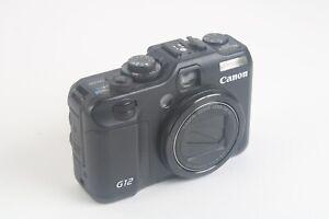 Canon PC1564 G12 Appareil Photo Numérique Avec 5x Optique Image Stabilisé Zoom