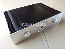 Q33 Class A Audio Amplifier Chassis Enclosure Preamp Case DIY Cabinet DAC Box