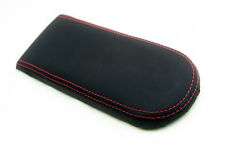 Armrest Console Real Leather Cover for VW Jetta Vento GTI MK4 99-04 Red Stitch