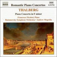 Thalberg: Concerto for piano in Fm; Nocturne in E, New Music