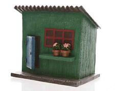 NEW  FAIRY GARDEN MINIATURE HOUSE - The Potting Shed - 12.5cm - The Rustic Shed