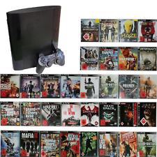 PS3 Super Slim 12GB Konsole + 1 Original Controller 10 Spiele (+18)
