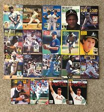Lot of 19 Beckett Baseball Price Guide Vintage Winfield/Mattingly/Henderson/More