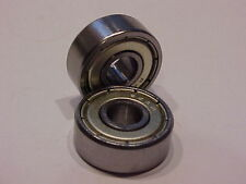 """2 pieces R4A-ZZ Double Shielded Bearings  1/4"""" x 3/4"""" x 9/32""""  Free Shipping"""