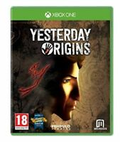 Yesterday Origins XBOX ONE XB1 MINT - 1st Class Delivery