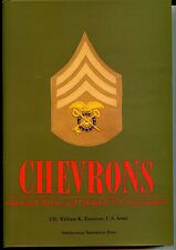 CHEVRONS ILLUSTRATED HISTORY AND CATALOG OF U.S. ARMY INSIGNIA, NEW BOOK OFFER