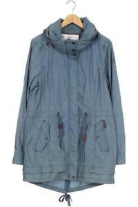 DreiMaster Mantel Damen Jacke Parka Gr. XL Baumwolle blau #1f6aec0