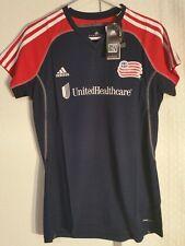 Adidas Women's MLS Jersey New England Revolution Team Navy sz S