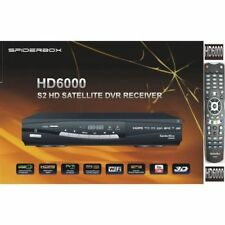 SpiderBox 6000 HD Satellite Receiver With Built-in WiFi Plus YouTube