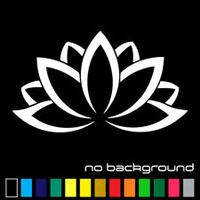 Lotus Flower Sticker Vinyl Decal - Namaste Yoga Plant Car Window Wall Decor Art