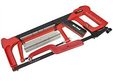 NEW 4pc Senior Hand and Junior Hacksaw Set Blades Mitre Box with WARRANTY