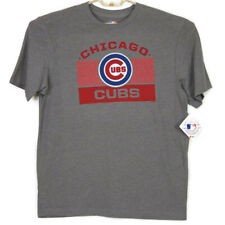 Chicago Cubs Baseball MLB Mens Womens T-Shirt Shirt Size L Large Gray