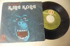 """THE APES""""RICORDANDO KING KONG-disco 45 giri NR.UNO 1977"""" PROG.Italy"""