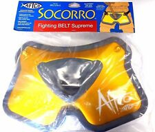 Aftco Socorro Big Game Stand-Up Fish Fighting Belt BELT2GLD w/ Quick Clips - New