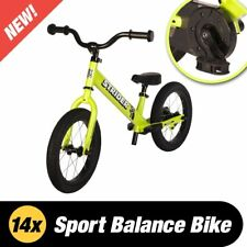 STRIDER 14x Sport 2 in 1 Balance Bike w Pedal Kit Kids Learn To Ride Pre Bike