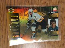 UPPER DECK HOCKEY 1995 RAY BOURQUE MCDONALD'S NHL ALL STAR CARD 05