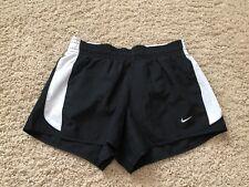 Nike Dri Fit Women's Running Shorts Black/White Size XS