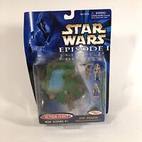Star Wars Episode 1 Action Fleet Mini Scenes #1 Stap Invasion 1998 Hasbro Jar