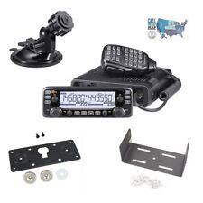 Icom IC-2730A VHF/UHF Mobile Radio w/ Faceplate & Body Mobile Mounting Brackets