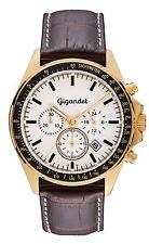 NEU! Gigandet Herrenuhr VOLANTE Chronograph Edelstahl Gold G3-003