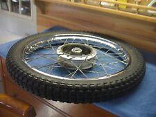 """Suzuki Front Wheel 19""""  OEM TC125 1974-75 Stock Original  #4257"""