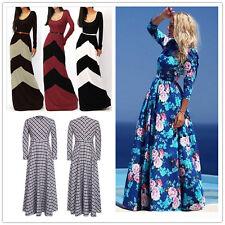 Hot Sale Spring Autumn Large Hem Long Sleeve Sexy Slim Women Long Dress Fashion