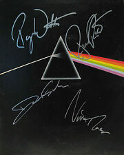 Pink Floyd 8 x 10 Autograph Reprint David Gilmour Roger Waters Richard Wright +1